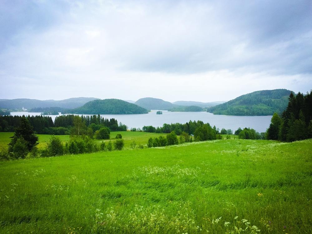 Magiskt landskap.
