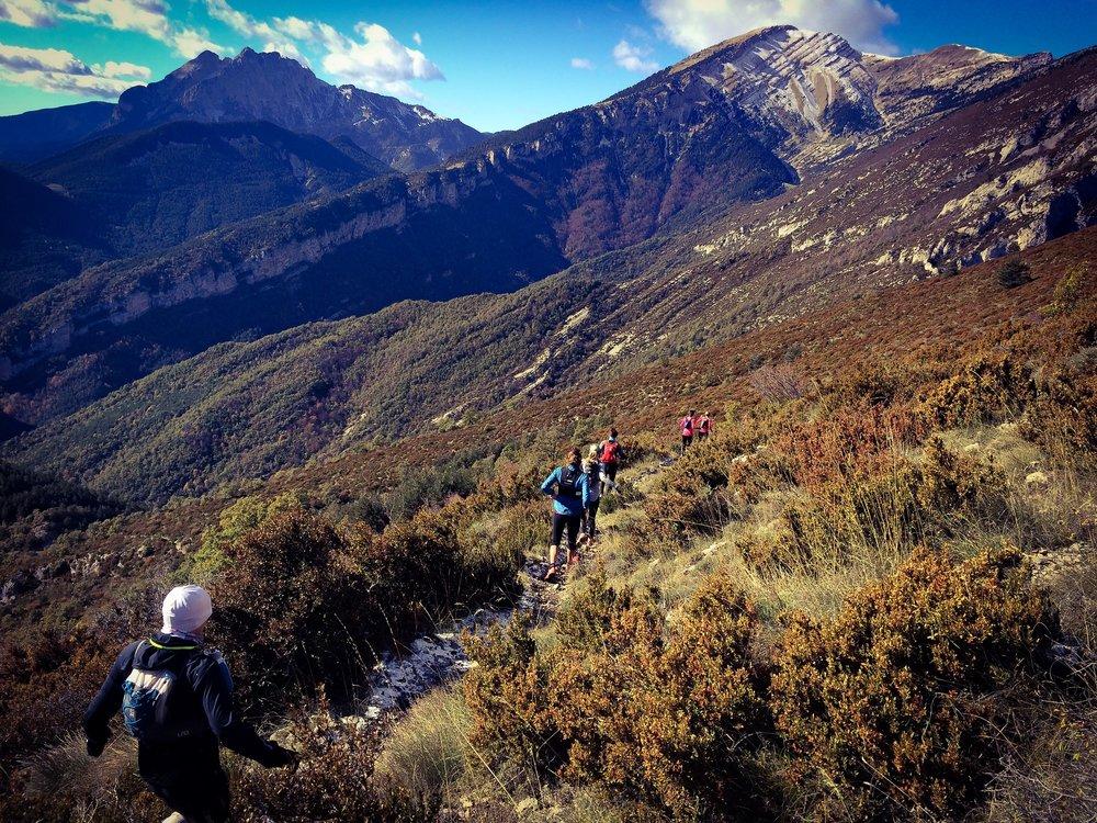 Långpass i Pyrenéerna
