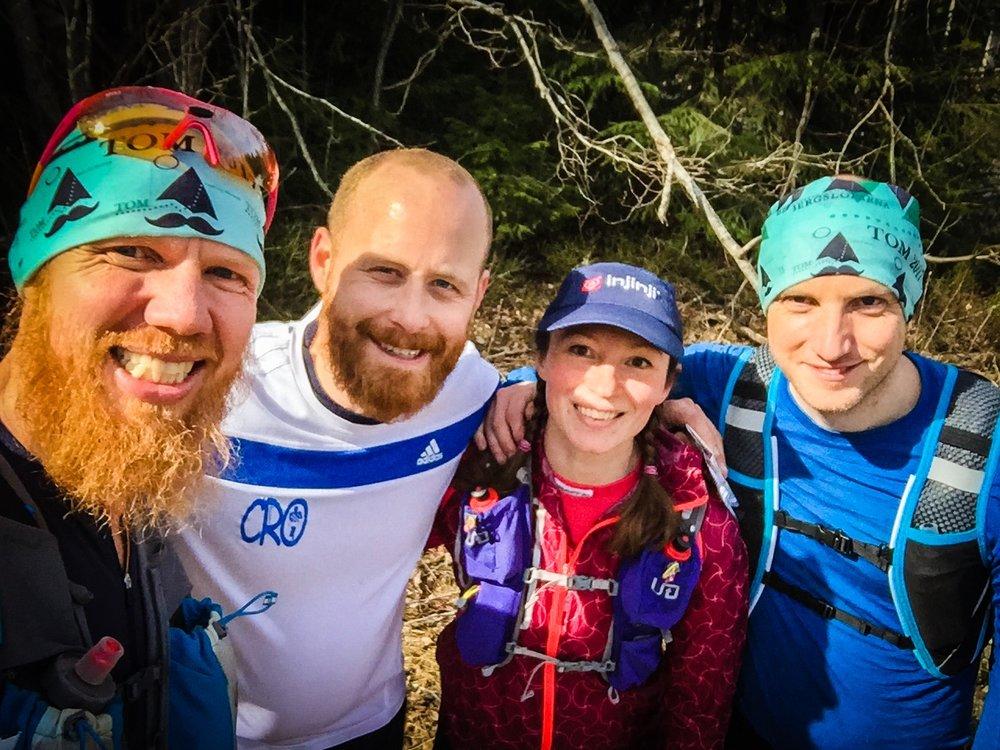 Tack Cristoffer och Petter för en jättehärlig långtur i skogen!
