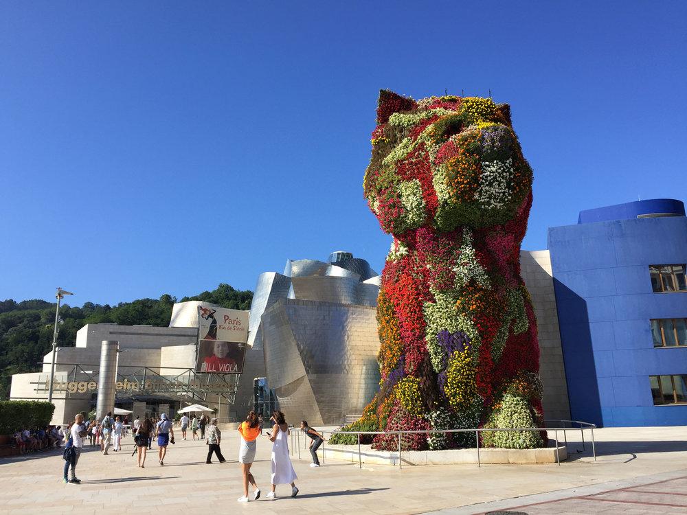 Guggenheim-muséet i Bilbao