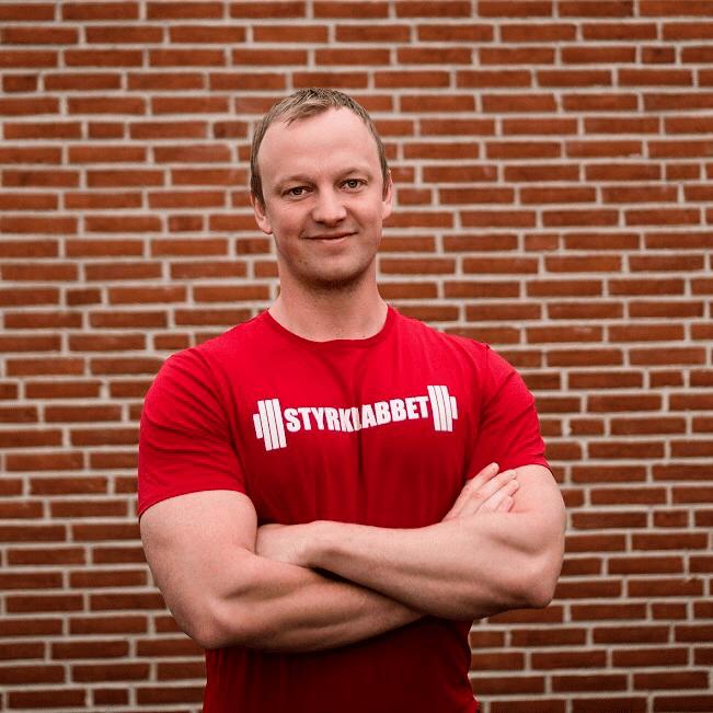 Daniel Richter från  Styrkelabbet