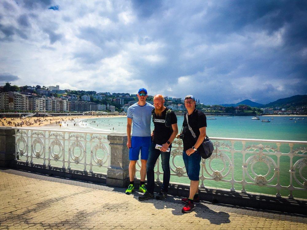 San Sebastian - en av världens vackraste kuststäder!