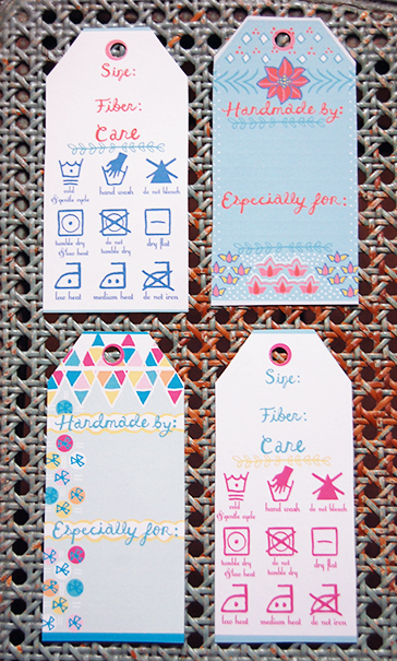 Free printable knitting tags first pancake studio for Hand knit with love labels