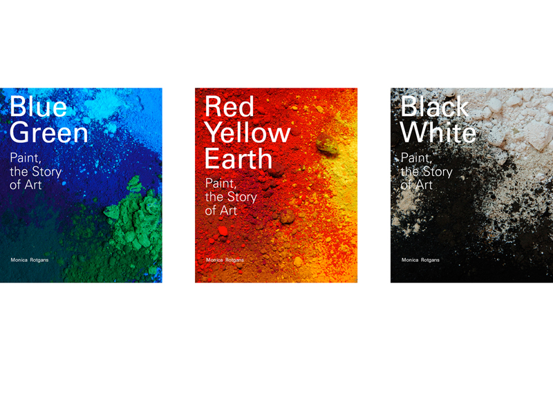 7 colours will be released in three volumes
