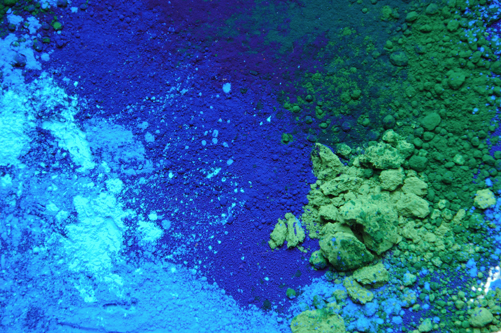 Blue & Green pigments
