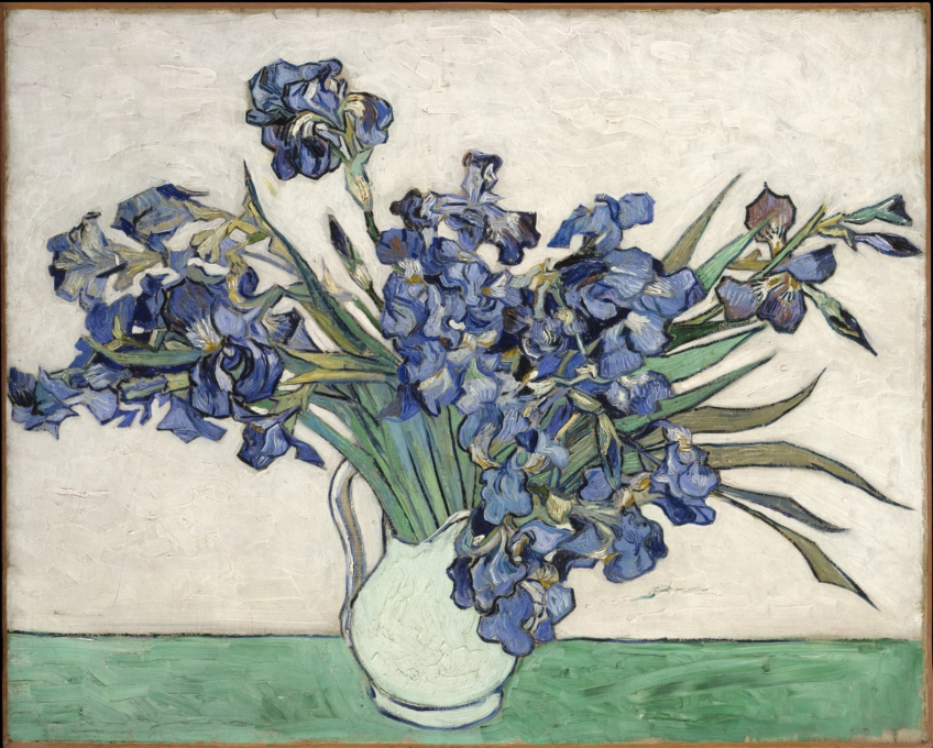 'Irissen'' as on show in the Metropolitan Museum in New York.