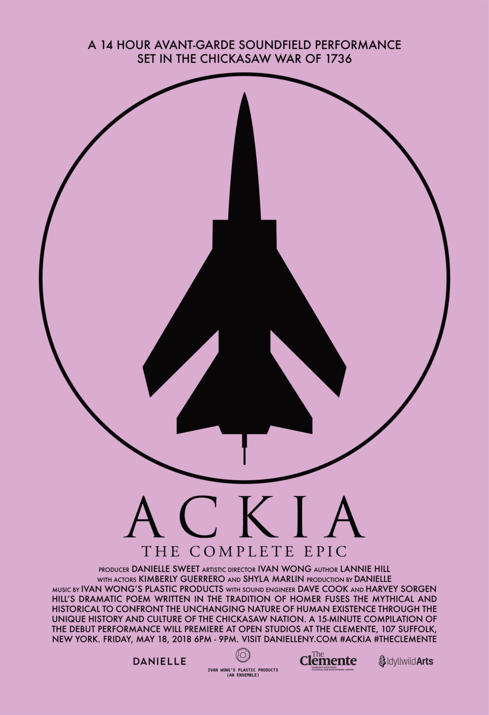 ACKIA  was made possible with support from idyllwild artS.