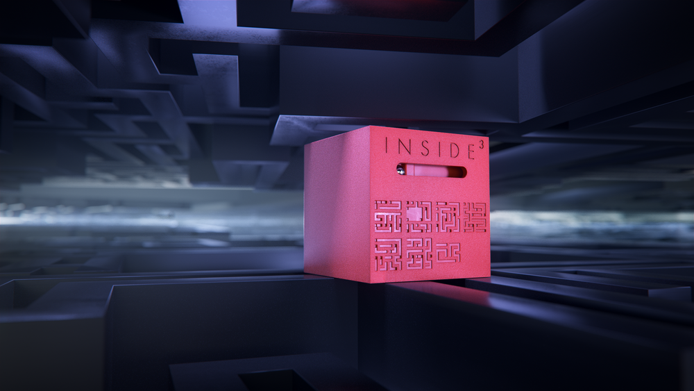 Inside3 - Modeling and rendering with Cinema 4D (Octane render) - post-production with After Effects