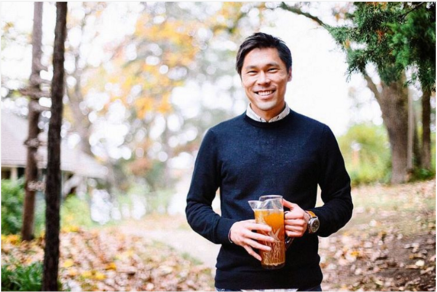 Bobby Chang of Seasons Soda, photo courtesy of Seasons Soda, photo by Amanda Jane Jones