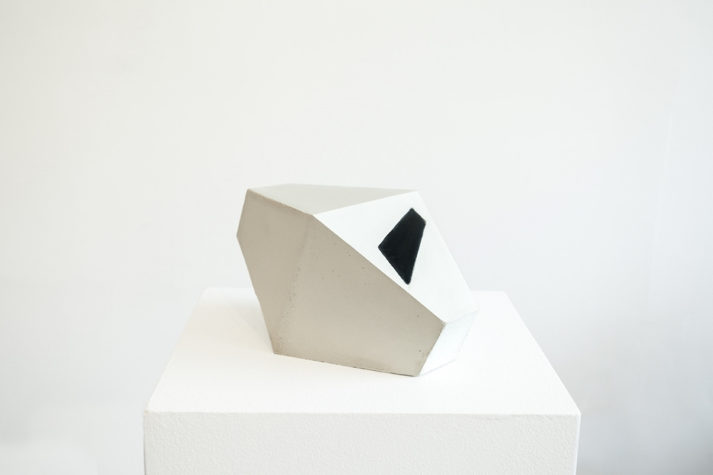 Untitled Cement and latex 10 x 5 x 5 in 2014