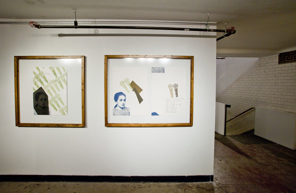 4- Itziar Barrio. WE COULD HAVE HAD IT ALL .2013. Installation View .jpg