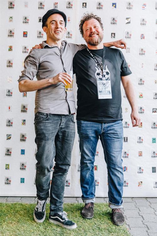 Peter Bräm (l.) und Silvan Glanzmann. Foto:Nico Valsangiacomo  www.nicovalsangiacomo.ch