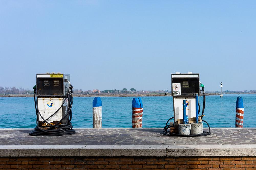 gasolinera en Burano