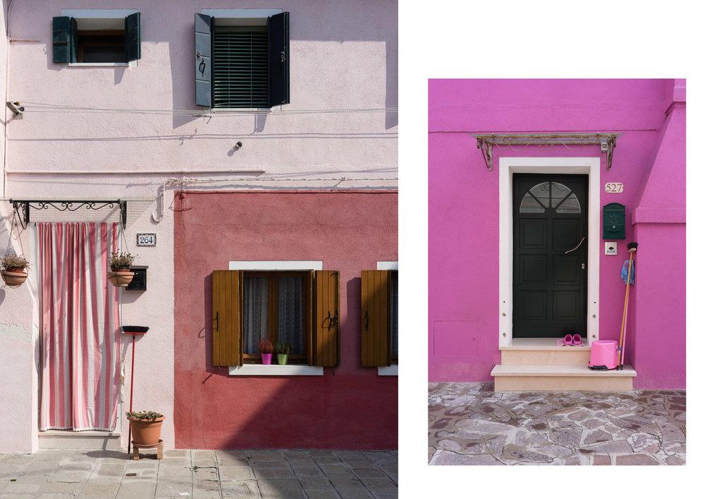 casas colores en Burano