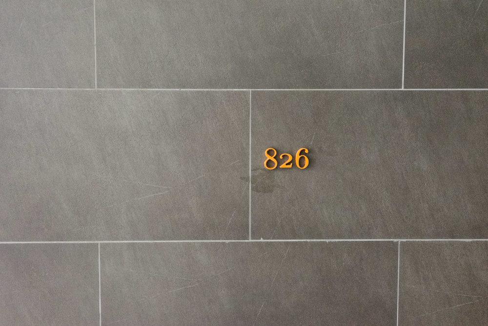 Sheraton número de habitación