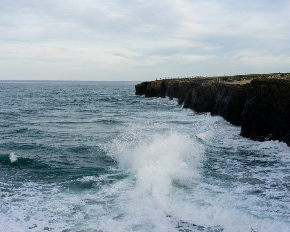 Playa de las Catedrales (marea alta)