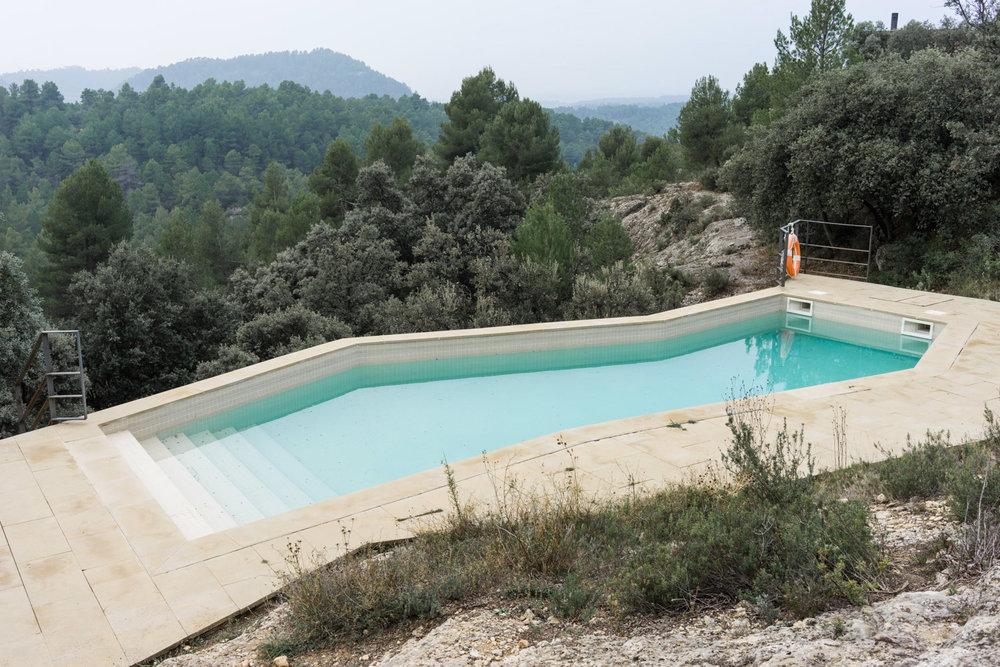 piscina hotel Teruel