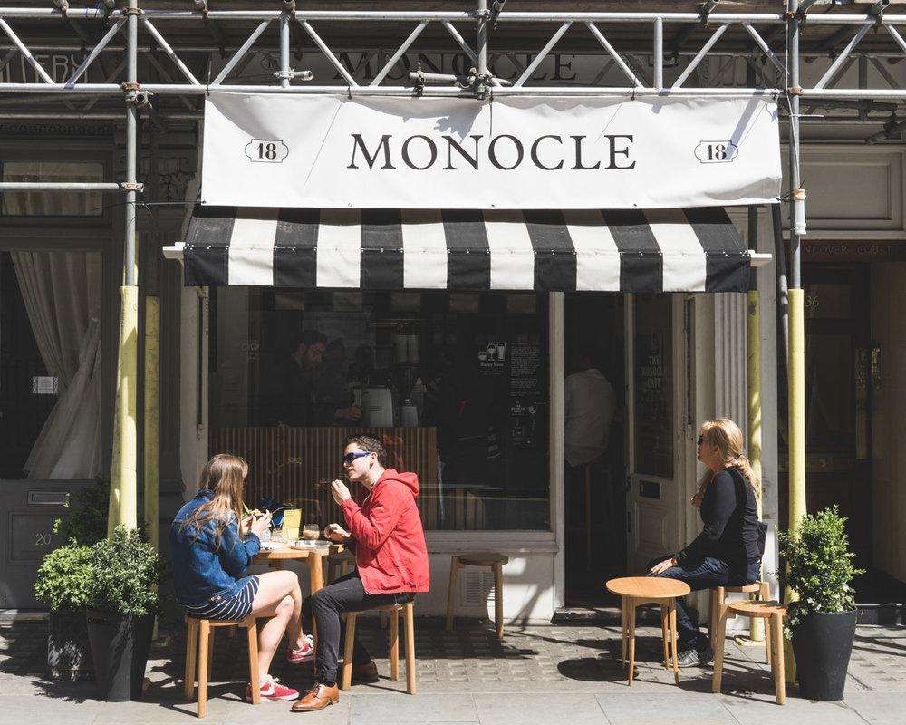 cafeterías en Londres