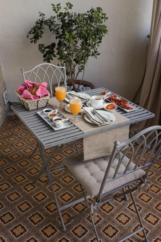 desayuno en Jardín de ses Bruixes