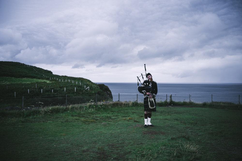 gaita escocesa
