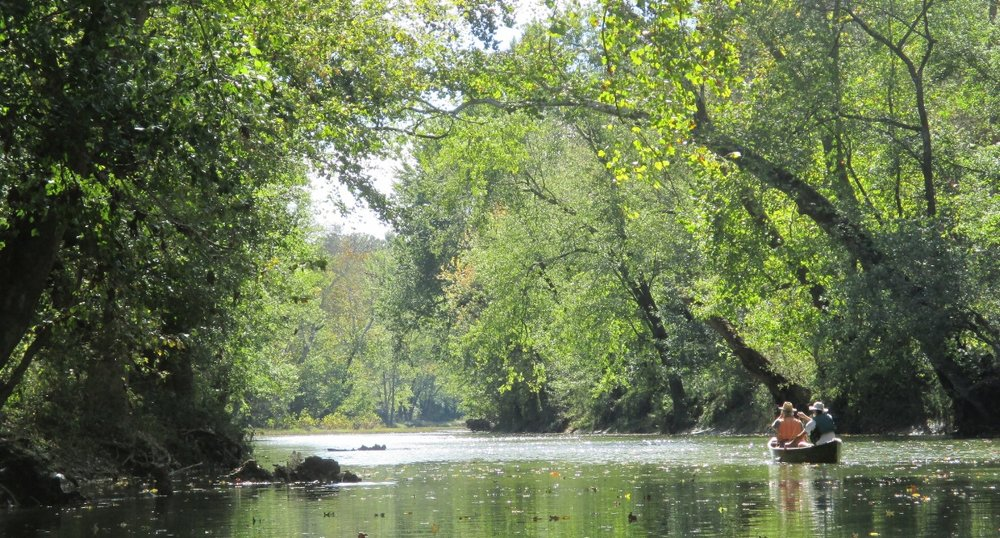 Approaching the Salt River from Floyds Fork.