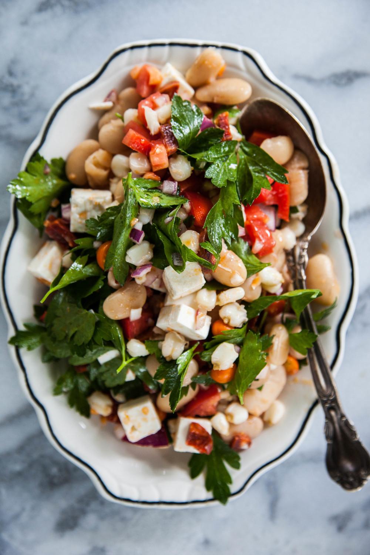 peruvian bean salad