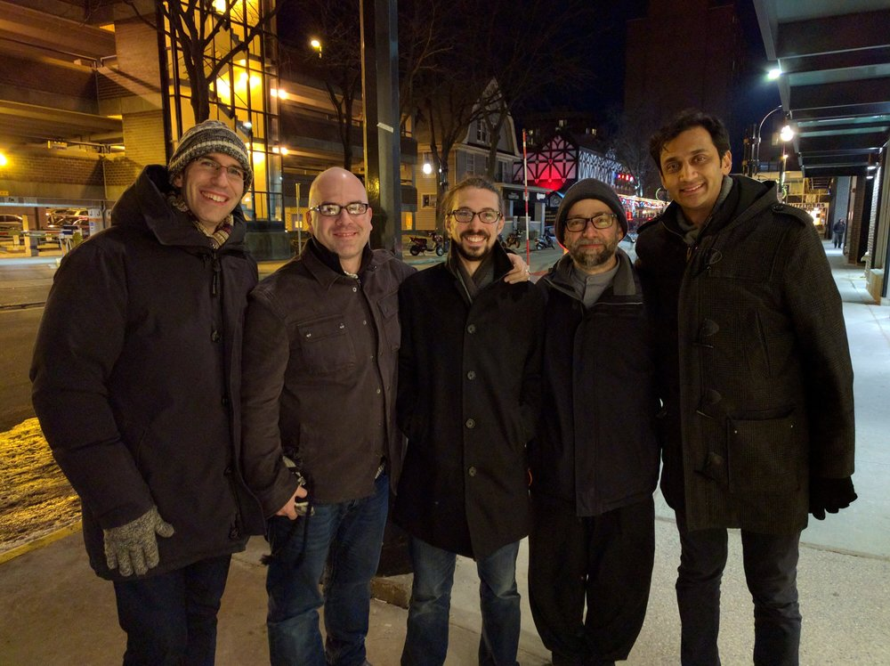 Ensemble Duniya in Madison, WI, January 2016