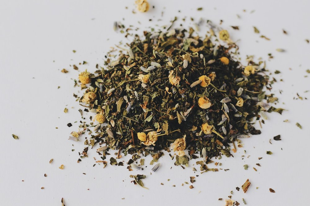 Herbal Bath Teas for Spring