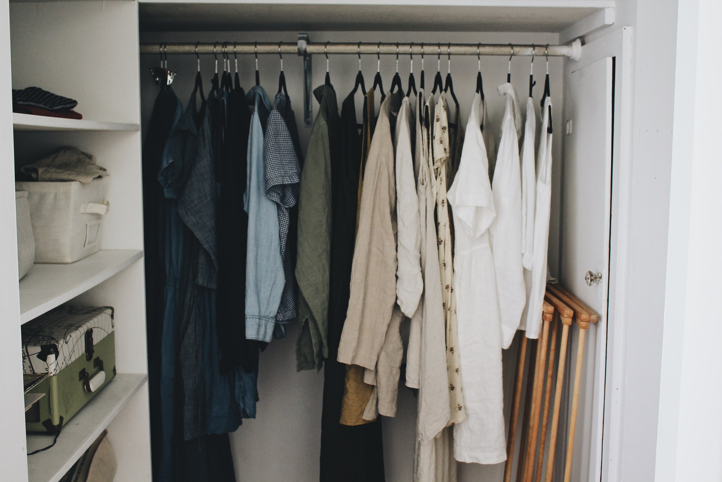 How Long It Really Takes To Create A Minimalistu0027s Wardrobe