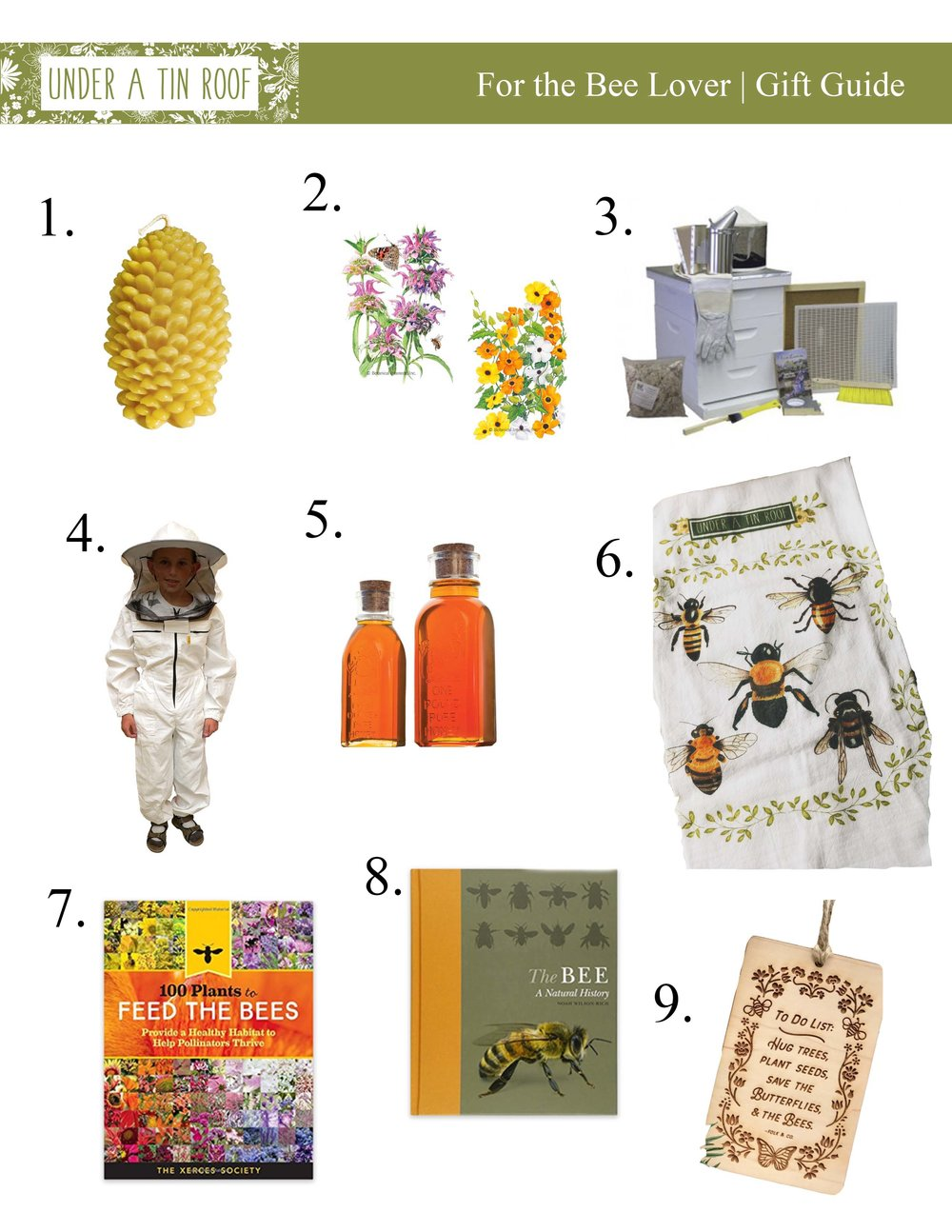 Gifts for the Bee Lover - Under A Tin Roof Blog