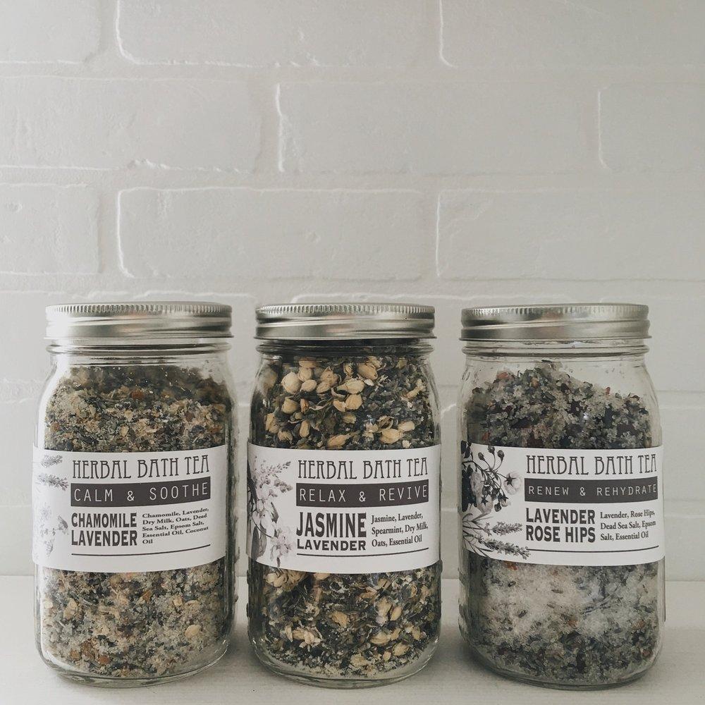 Herbal Bath Tea Recipes