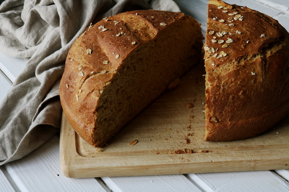 Colonial Kitchen | Brown Bread - Under A Tin Roof Blog