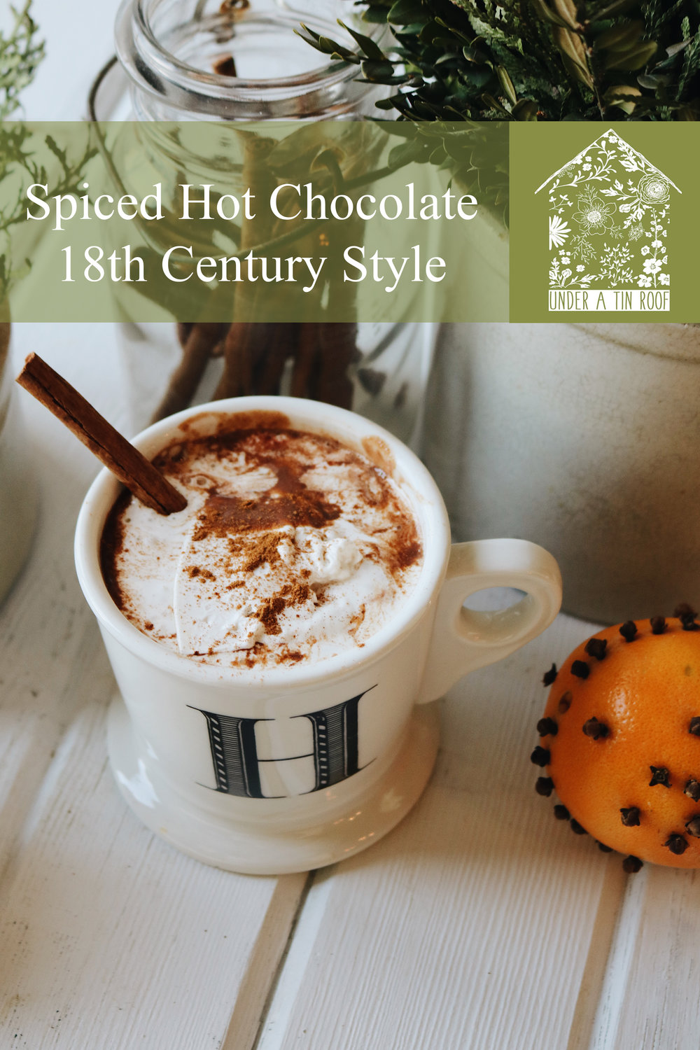 Colonial Kitchen | Hot Chocolate the 18th Century Way