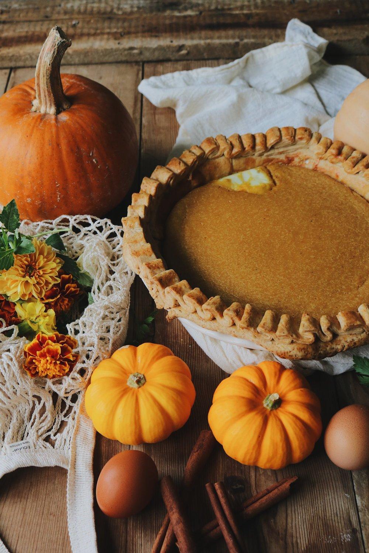 Colonial Kitchen Pumpkin Pie