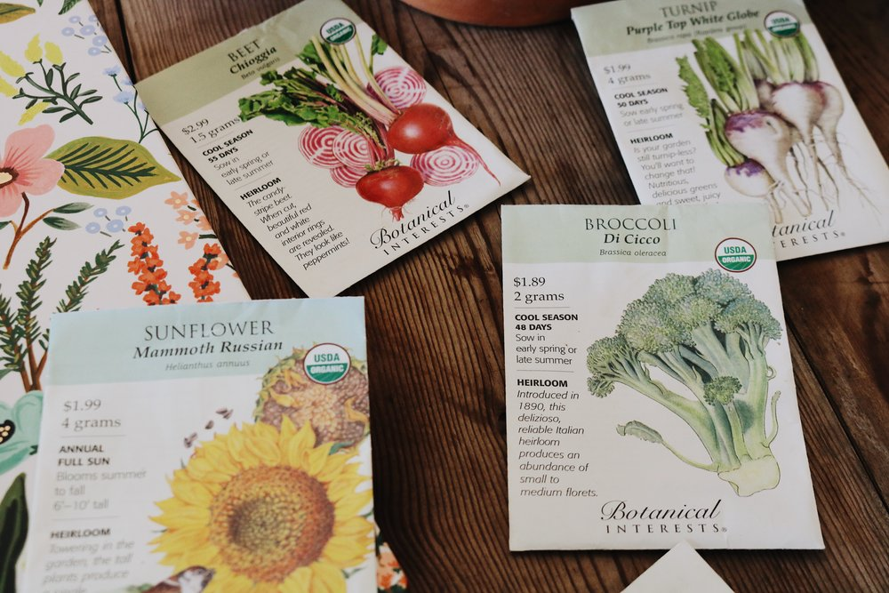 Ordering Seeds + Garden Goals for the New Year! - Under A Tin Roof Blog