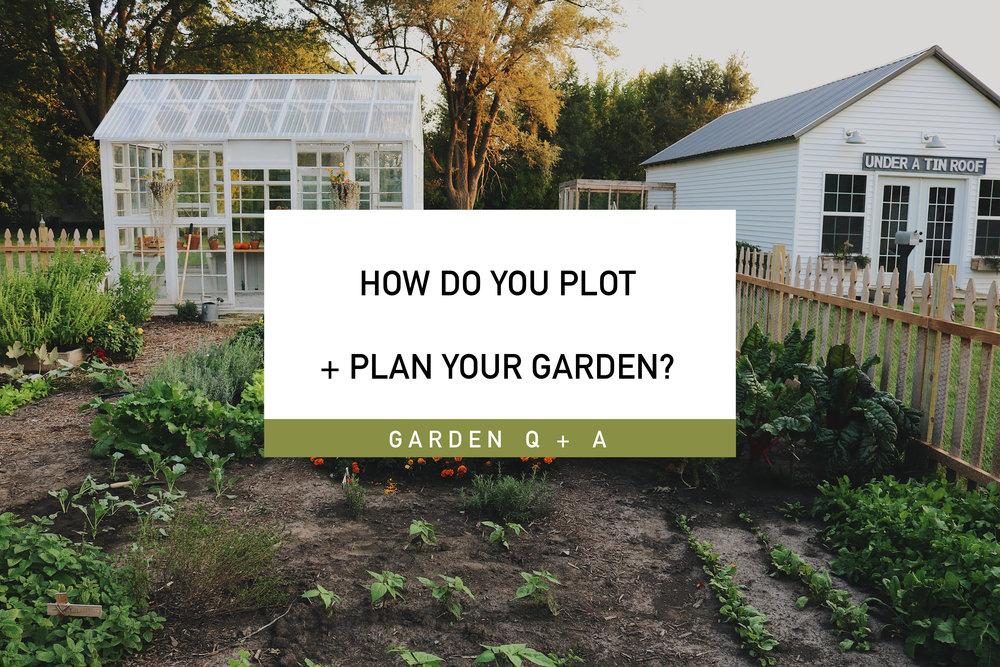 Garden Q+A: How Do You Plot + Plan Your Garden?   Under
