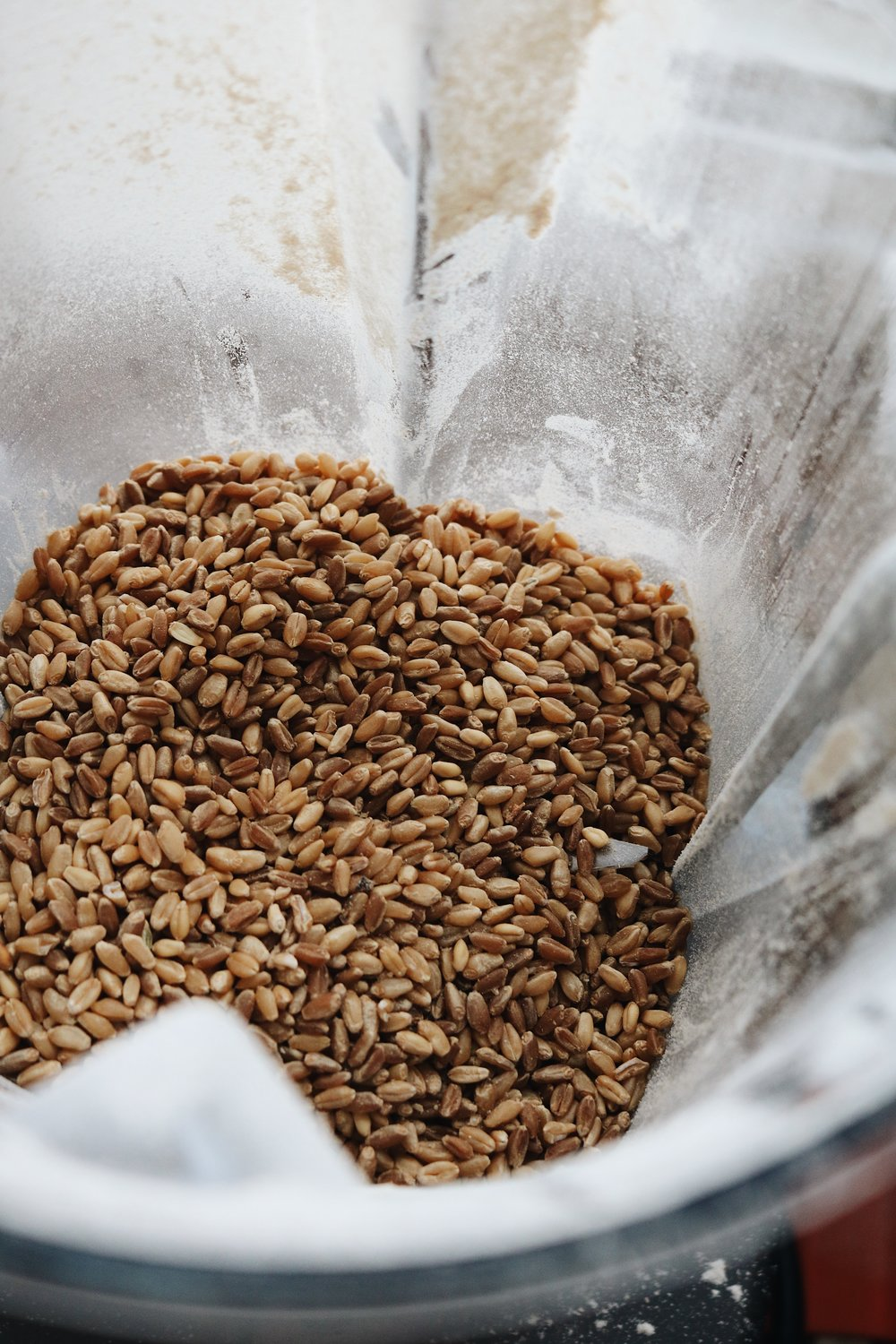 On Refined Flours and Grinding Your Own Whole Grains - Under A Tin Roof Blog