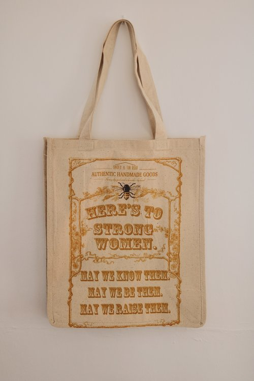 Here s to Strong Women Reusable Shopping Bag.  8AB099AD-6C49-4FA7-9D4D-94D4F5BA0637.jpeg 6a47f9b54f