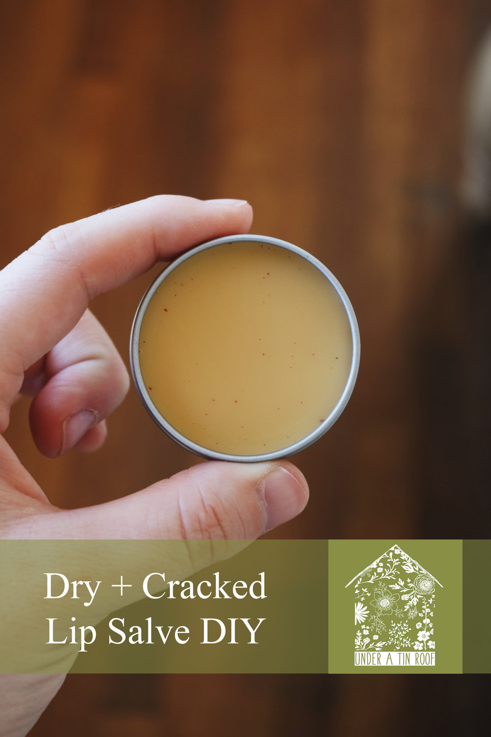 Lip Balm for Dry, Cracked Lips - Under A Tin Roof Blog