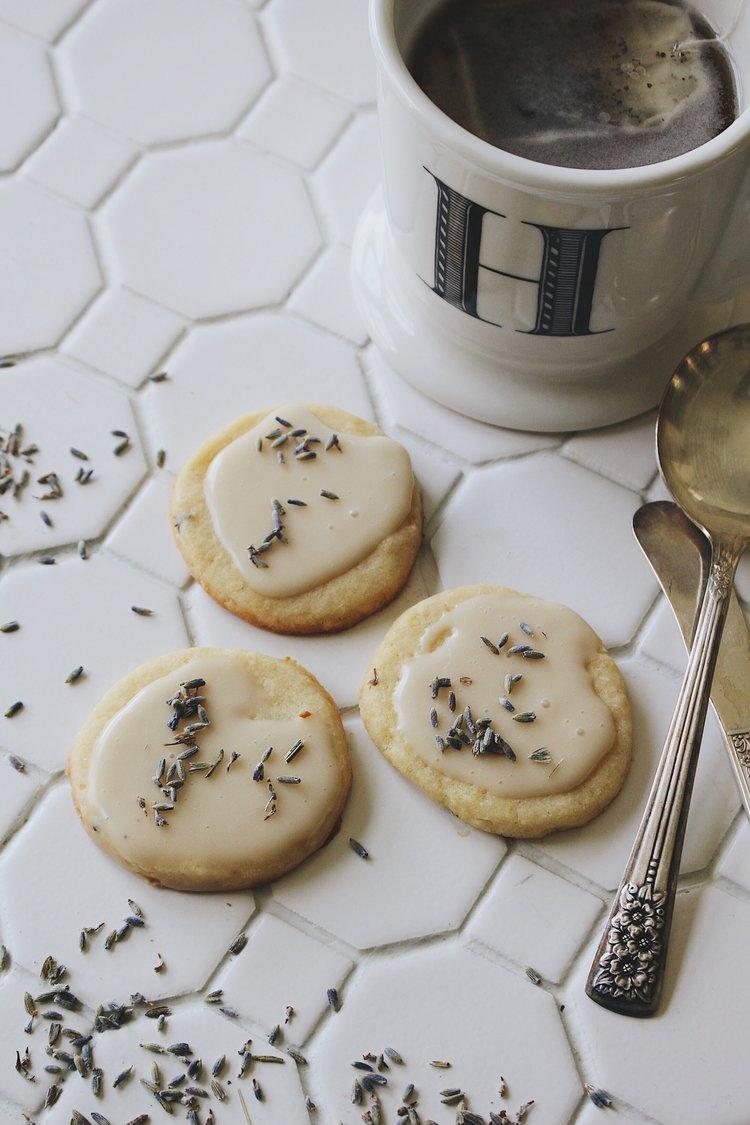 LEMON LAVENDER TEA BISCUITS
