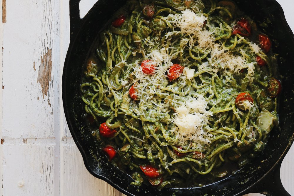 Spinach Pesto - Under A Tin Roof Blog