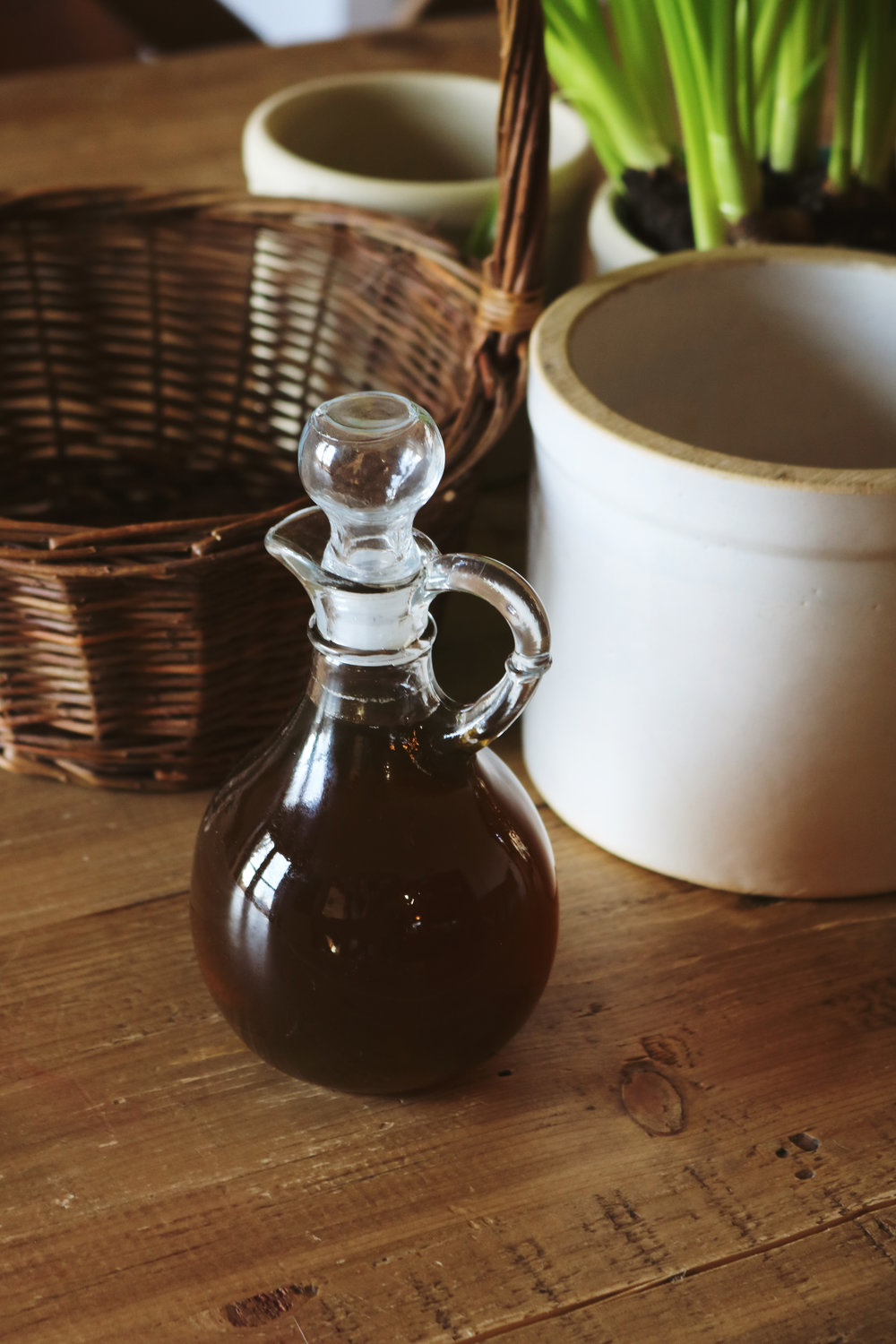 Lavender Syrup - Under A Tin Roof Blog