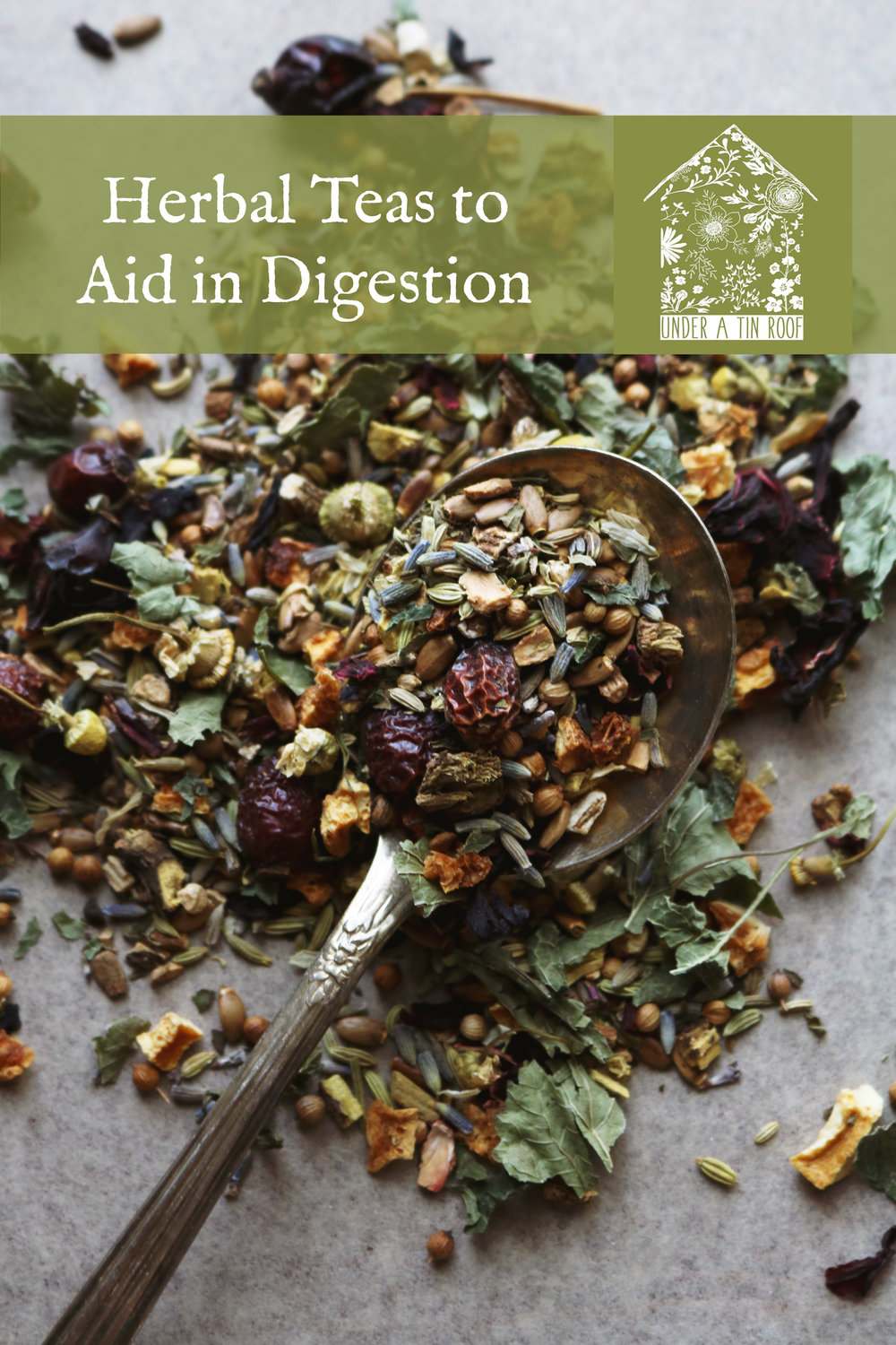 Teas to Aid in Digestion - Under A Tin Roof Blog