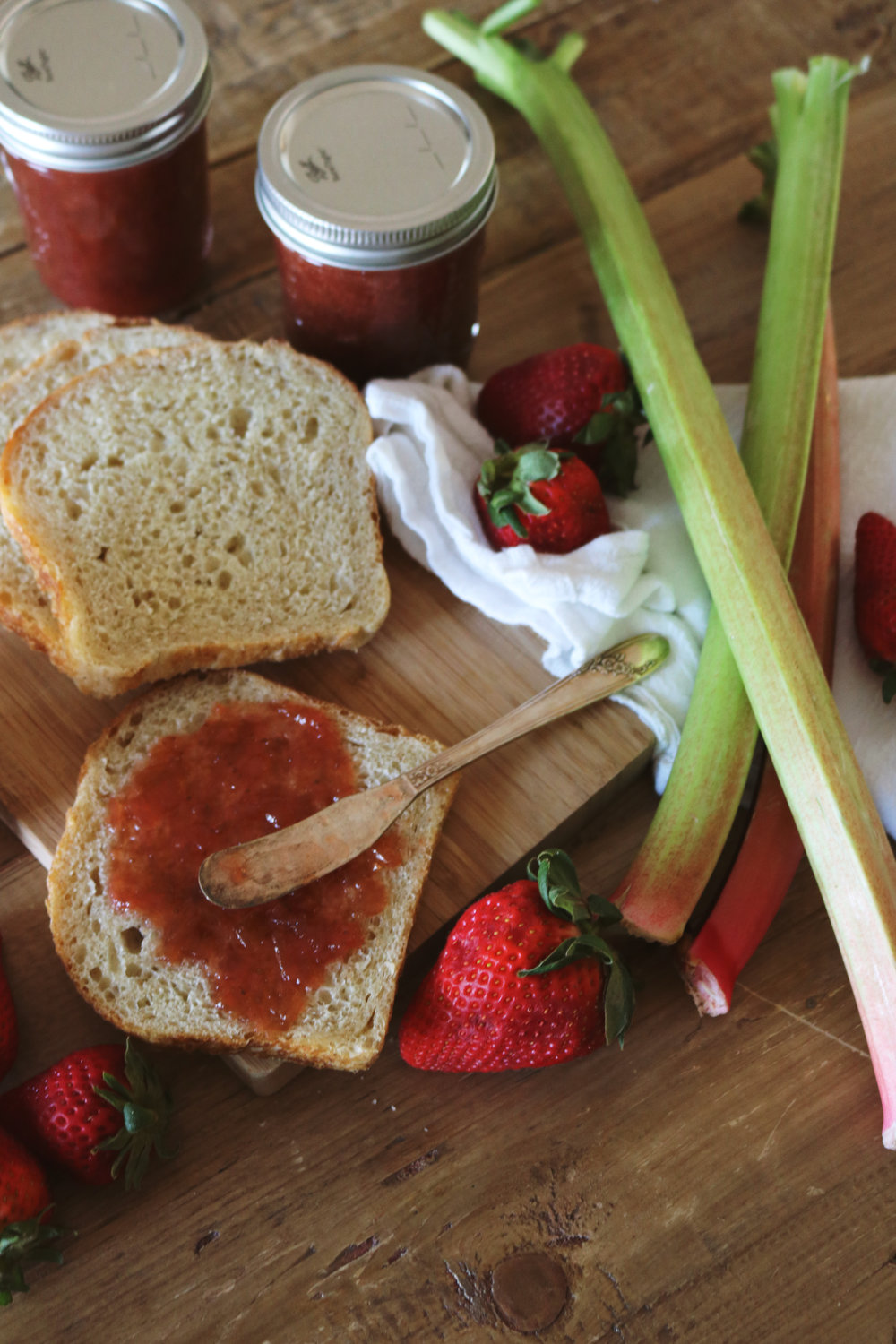 Strawberry Rhubarb Jam - Under A Tin Roof Blog
