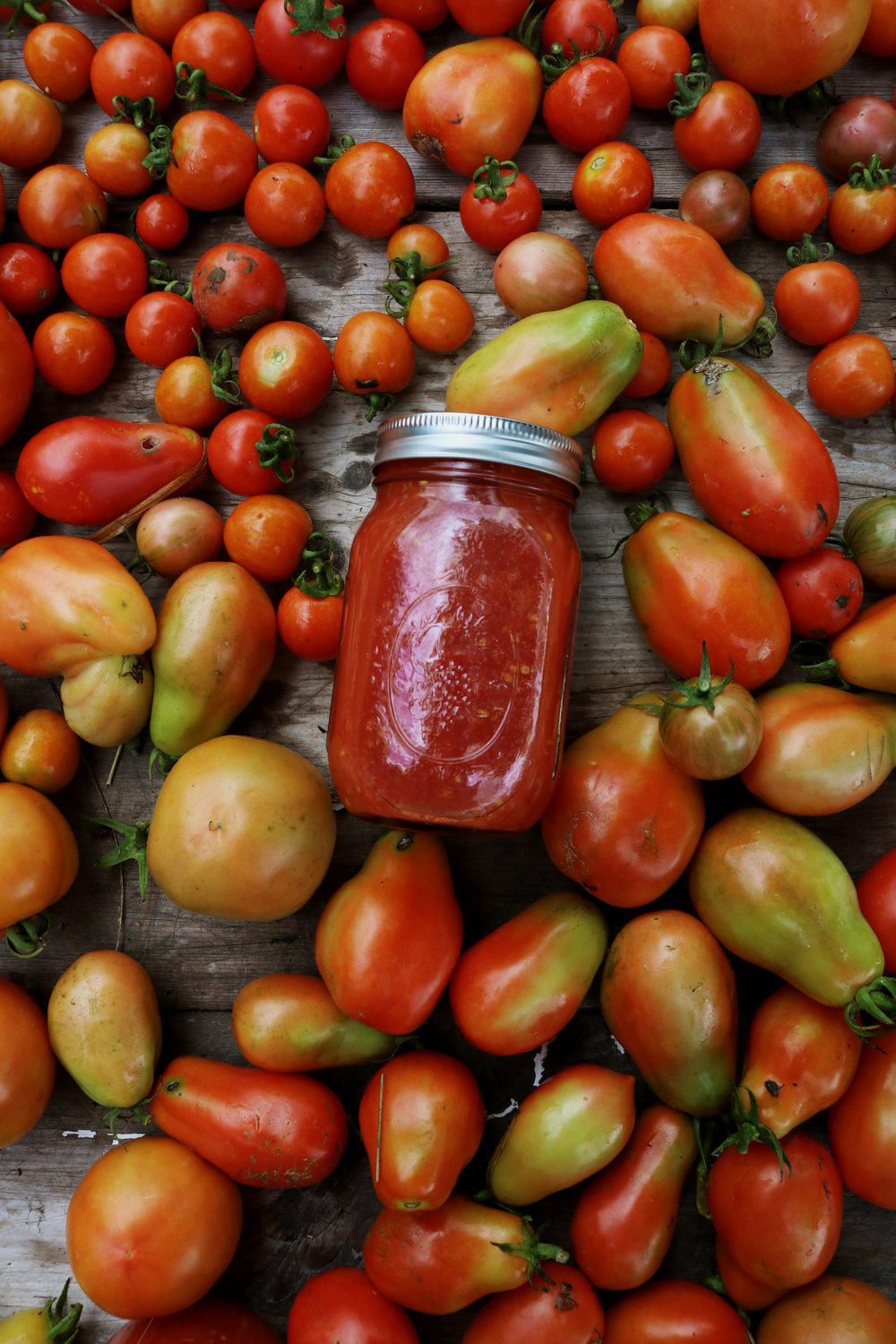 Canning Diced Tomatoes - Under A Tin Roof Blog