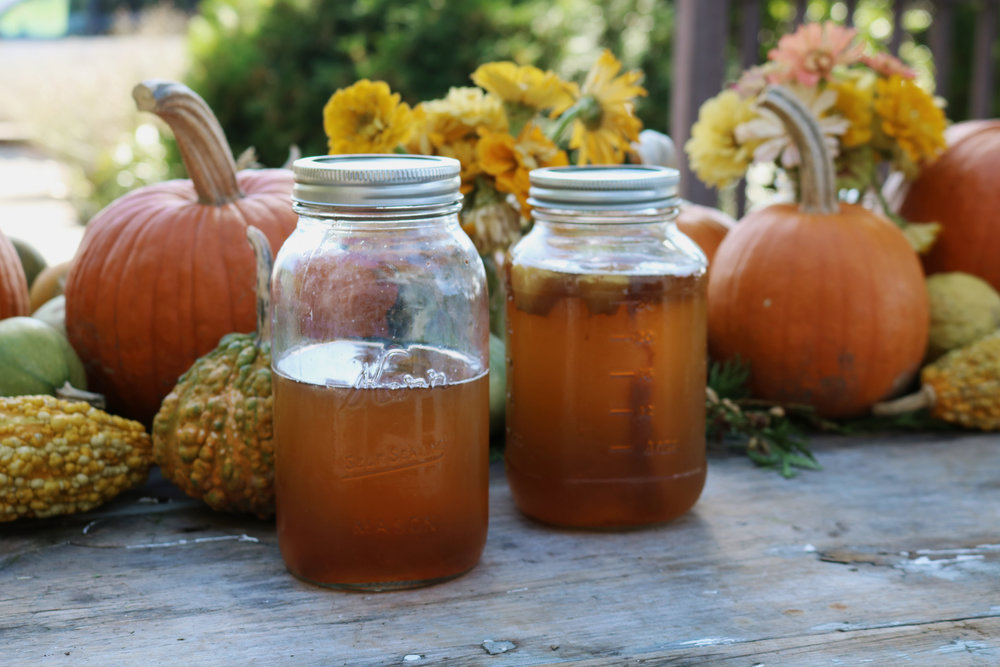 Autumn Kombucha Flavors - Under A Tin Roof Blog