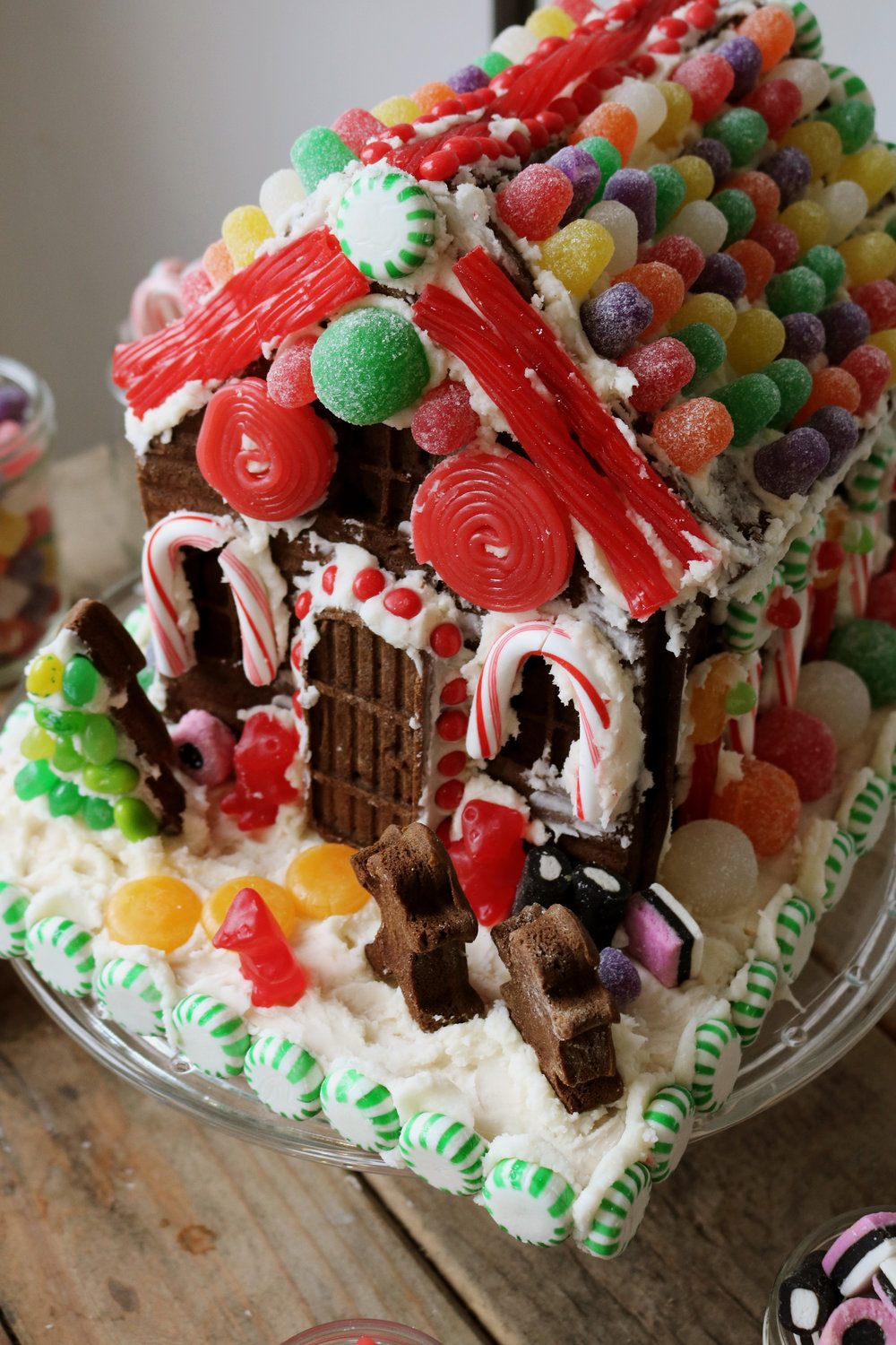 How to Make a Real Gingerbread House - Under A Tin Roof Blog