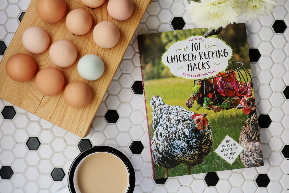 101 Chicken Keeping Hacks | A Humble Book Review - Under A Tin Roof Blog