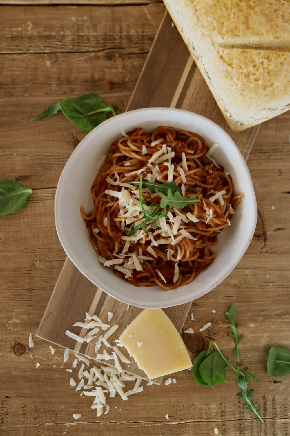 Our Favorite Spaghetti Bolognese - Under A Tin Roof Blog