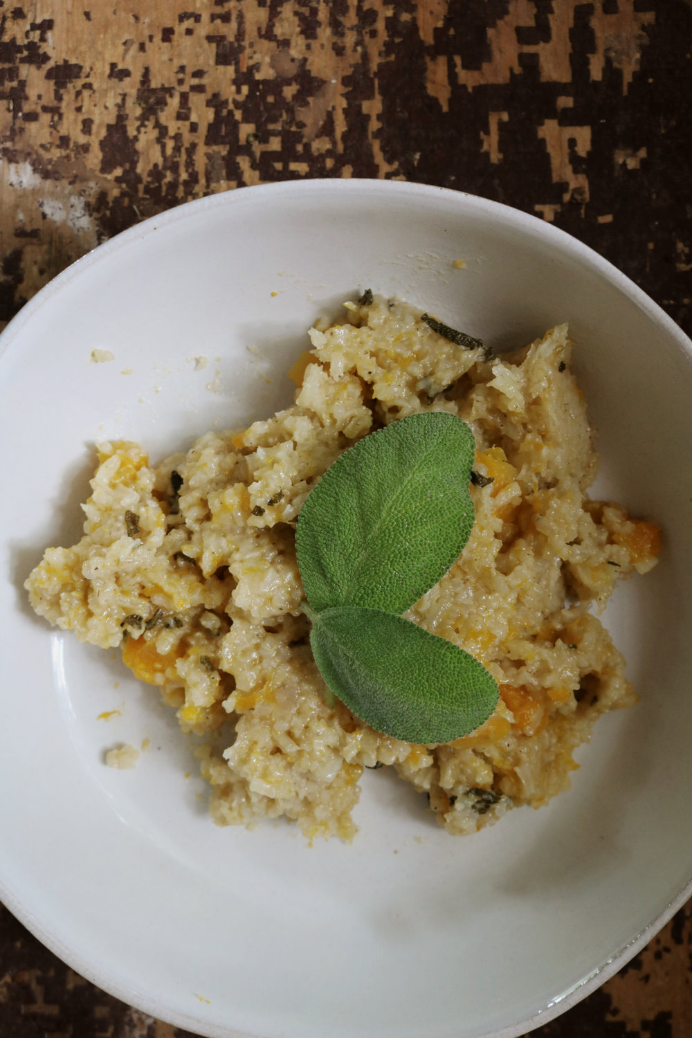 Butternut Squash and Sage Risotto - Under A Tin Roof Blog